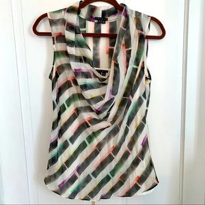 Theory sheer two piece top size small GUC